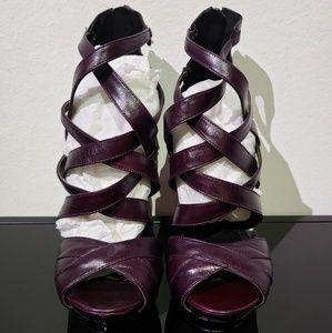 HOT 🔥🔥Velvet Angels strappy leather high heels